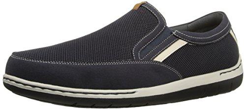 Dunham Men's Fitsync Slip On Shoe,Navy,14 4E US