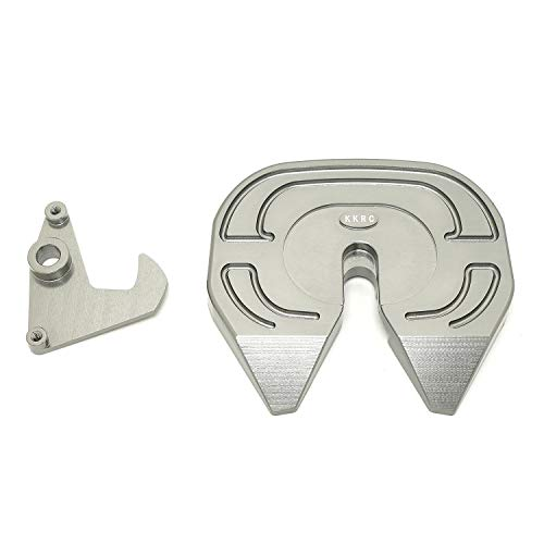 Metal Coupler Turntable (Silver) Set for Tamiya 1/14 R/C Tractor Truck/Trailer ()