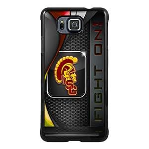 Usc Trojans Black New Cool Custom Design Samsung Alpha Cover Case