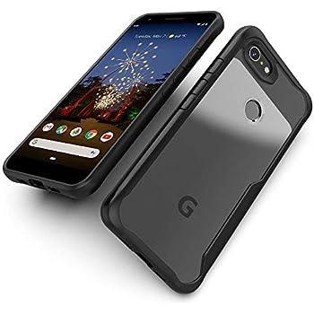 IDEA LINE Google Pixel 3a Case, Shockproof Slim Fit TPU Cover for Google Pixel 3a (2019) - Black