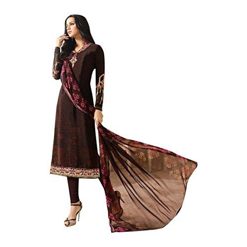 tradizionale costume abito misura Indiano su vestito pakistano 889 culturale etnico designer salwar lungo RFR0dw