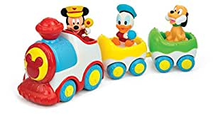 Clementoni 143610N Tren Músical Mickey Mouse