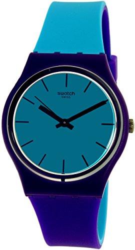 Swatch Women's Mixed Up GV128 Multicolor Rubber Swiss Quartz Watch