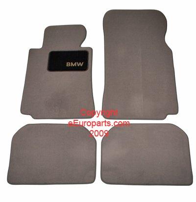 """""""BMW Genuine Gray Floor Mats for E38 - 7 SERIES 740i SEDAN (1994 - 2001), set of Four"""" for cheap"""