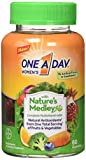 One A Day Women's Gummy Nature Medley, 60 Count