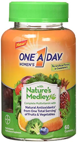 Natures Medley - One A Day Women's Gummy Nature Medley, 60 Count