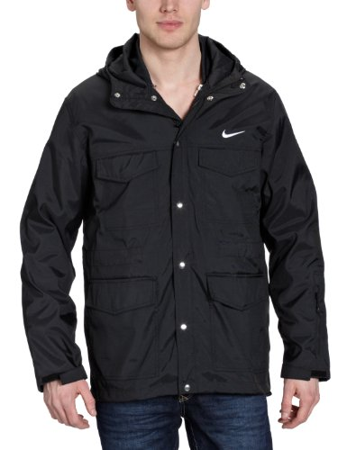 Nike Hybrid - Cazadora para hombre Negro (Black/White)