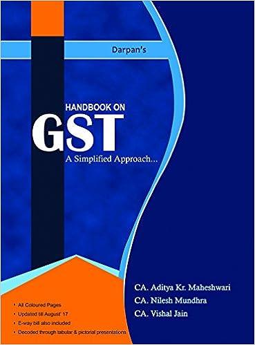 Handbook On GST Simplified Approach