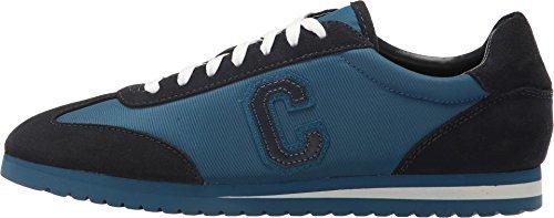 COACH Women's Ian Midnight Navy/Denim Suede/Nylon Oxford Size 7.5 (Blue Coaches)
