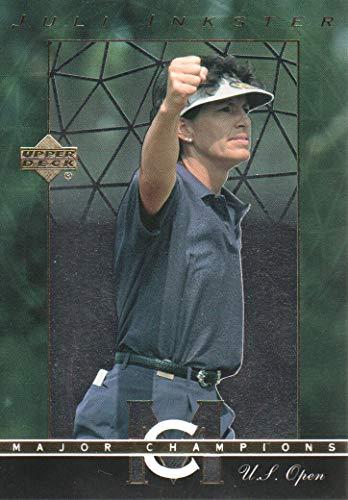 (2003 Upper Deck Golf Major Champions #41 Juli Inkster 02 US Open)