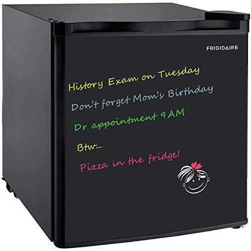1.6 Cu Ft Bar Fridge, Compact Refrigerator, Black