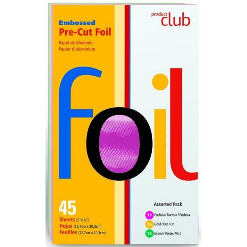 (Product Club Assorted Embossed Pre-Cut Foil)