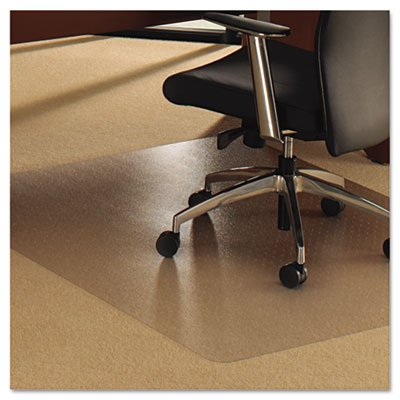 Floortex Cleartex Ultimat Polycarbonate Chair Mat For Carpet, 48 X 79, Clear by Floortex
