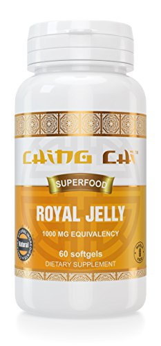 Royal Jelly | 2 Month Supply | Freeze-Dried For Maximum Stability And Quality 1000 Mg Equivalency | 60 Softgels