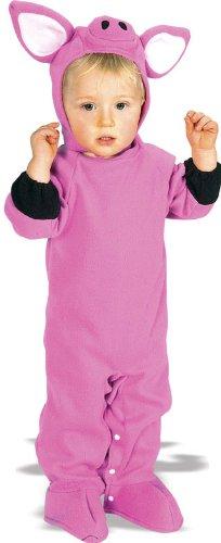 Rubie's Costume Co Baby-Girls Pig Animal Costume (Child Pig Costume)