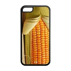 LJF phone case Custom Corn Unique iphone 5/5s Protective Rubber TPU cover
