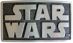 Star Wars Logo Belt - Star Wars LOGO Belt Buckle Lucas Film Inc Licensed
