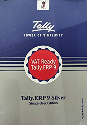 Tally Erp 9 Silver Single User Buy Online At Best Price In Uae Amazon Ae