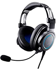 Audio-Technica ATH-G1 Premium Gaming Headset for PS4, Xbox One, Laptops, and PCs, with 3.5 mm Wired Connection, Detachable Mic