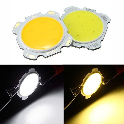 Led Diy Chips - Chip Star Board Circuit Light Heatsink Base Boards - 3w Diy Led Cob Chip High Power Bead Light Lamp Bulb White/Warm White Dc9-12v - Led Circuit Board - (Astral Lamp)
