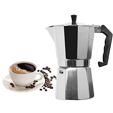 SZYLHJ Cafetera Cafetera de Aluminio Mocha Cafetera Espresso ...