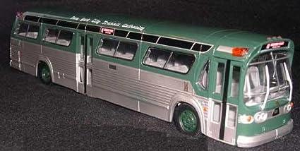 Amazon com: Corgi Classics New York City Transit Bus Fishbowl