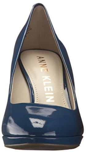 Anne Klein Women's Lolana Patent Pump Dark Blue websites cheap price cheap wholesale H3Y9xe