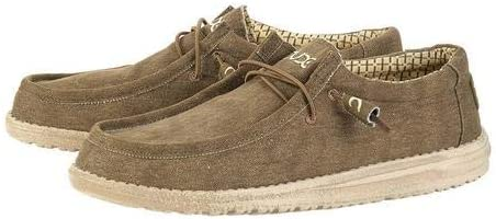 Hey Dude Mens Wally Washed Loafer