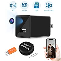 Hidden Spy Camera, Home Security Camera with WiFi, 1080P HD Wireless IP Surveillance Camera with 110¡ã Wide-Angle Lens