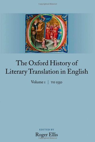 The Oxford History of Literary Translation in English: Volume 1: To 1550 Pdf