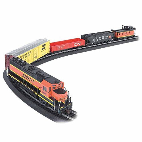 (Bachmann Rail Chief Ready To Run Electric Train Set - Ho Scale)