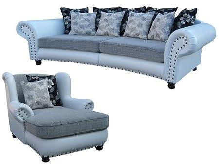 Big Sofa Hawana Im Kolonialstil Mega Ohrensessel Amazonde