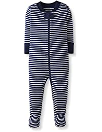 Baby/Toddler Boys' and Girls' One-Piece Organic Cotton Footed Pajama
