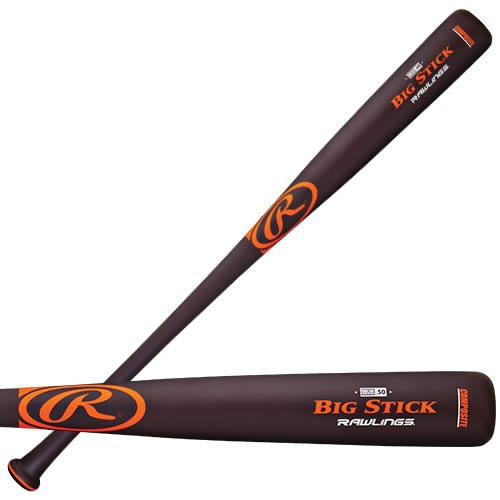 Rawlings Big Stick Wood Composite, 32-Inch/30-Ounce