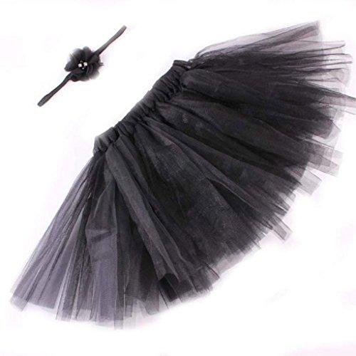 [MChoice Newborn tutu Dress Photography Props Suit ( Black)] (Black Angel Fancy Dress Costumes)