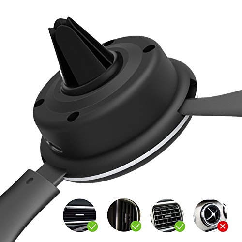 10W Wireless Car Charger, Wireless Fast Car Mount, Air Vent Phone Holder, Fast Charge for Samsung Galaxy S9, S9 plus, S8, S8 plus,note 8, note 5 by BESTHING (Image #4)
