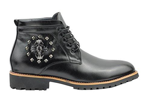 Xposed ,  Herren Chelsea-Boots, knöchelhoch Nero (Nero)