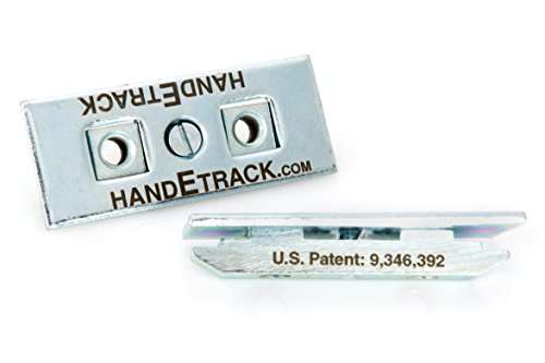 HandETrack Anchor for E-track or A-track, 5/16-18, Pack of 5