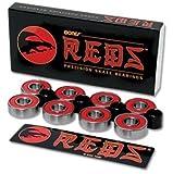 Bones Reds 7mm skate bearings 627 - 16 pack