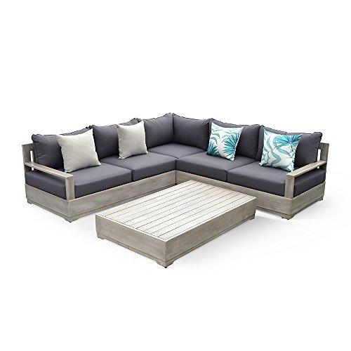 Price comparison product image Ove Beranda 3-piece outdoor sectional patio set