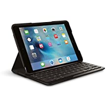Logitech Focus Protective Case with Integrated Keyboard for iPad Mini 4, Black (920-007953)