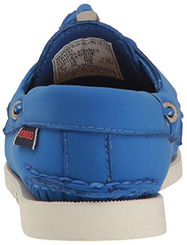 Sebago Womens Dockside Ariaprene Boat Shoe Blue Ariaprene VHiRzqf74M