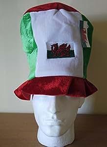 Welsh suave sombrero SUSPENSORIO Topper bandera