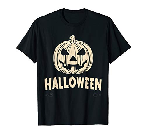 Pumpkin Face - Halloween Costume T-Shirt -