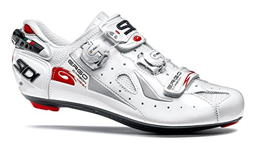 Sidi Ergo 4 Mega Carbon Road Cycling Shoes - White/White (40 M EU)
