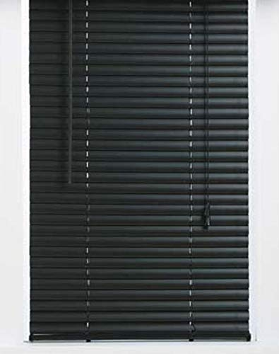 ALL FOR YOU 1-inch Mini Blinds- Black Color (26