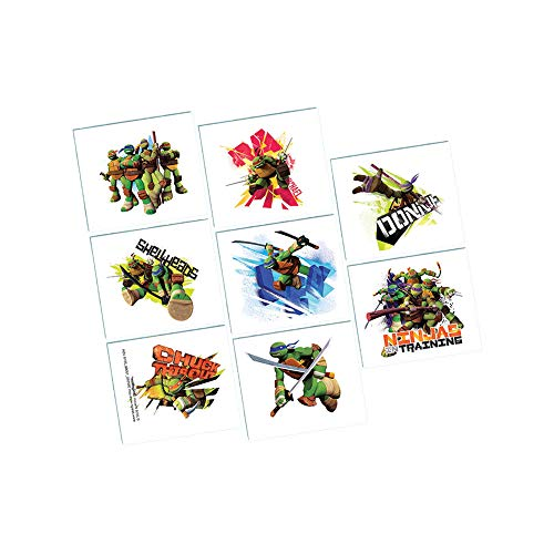 TMNT Tattoos, Party Favor -