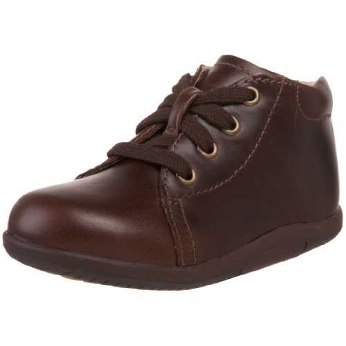 Stride Rite SRTech Elliot Bootie ,Brown,4 W US Toddler