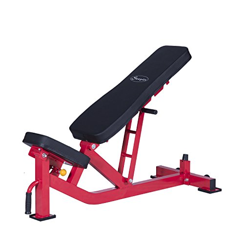 Soozier Ten-Position Adjustable Home Fitness Weight Bench by Soozier