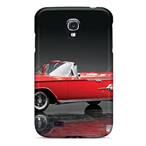 Quality DaMMeke Case Cover With Chevrolet Impala Convertible '1960 Nice Appearance Compatible With Galaxy S4